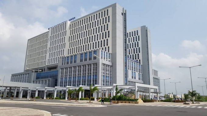 2017년 11월 탄자니아에 설립된 무하스의대 부속병원. 허승곤 교수 제공