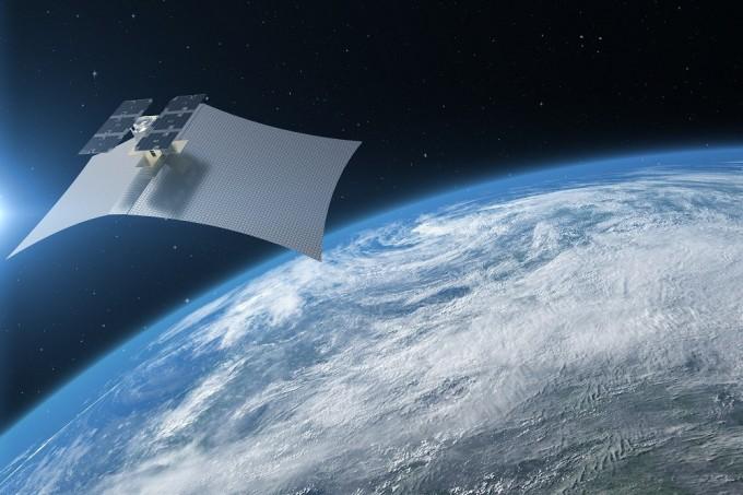 미국 위성개발 스타트업 카펠라 스페이스가 개발 중인 초소형 합성개구레이더(SAR) 위성의 상상도. 카펠라 스페이스 제공