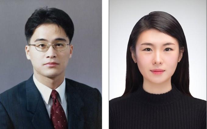 김종필 동국대 화학과 교수와 박한슬 박사과정 연구원