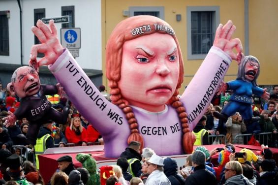 """전 세계 대규모 등교 거부 시위 """"기후변화 대처"""" 촉구"""