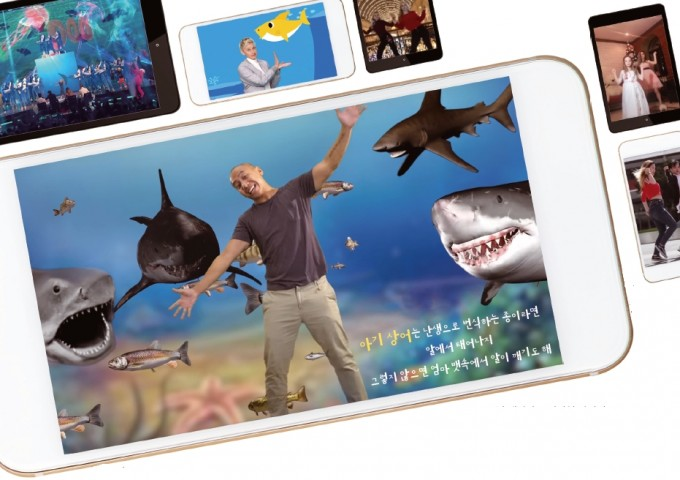 2017년 캐나다 코미디언 마이키 버스토스가 '상어 가족'을 패러디해 만든 뮤직비디오 등 ′상어 가족′을 패러디한 다양한 유투브 영상들이 있다.