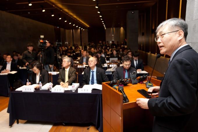 과학기술정보통신부와 환경부, 보건복지부는 20일 서울 중구 LW컨벤션에서 1년 반 동안 진행된  미세먼지 범부처 프로젝트 사업 성과를 공유하는 행사를 열었다. 이날 행사에선 미세먼지 범부처프로젝트로 진행된 미세먼지 대처 기술도 소개됐다.과학기술정보통신부 제공.