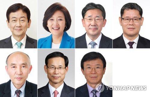 [개각] 정치인 장관 최소화, 전문가 다수 등용...현정부 최대 7부처 개각