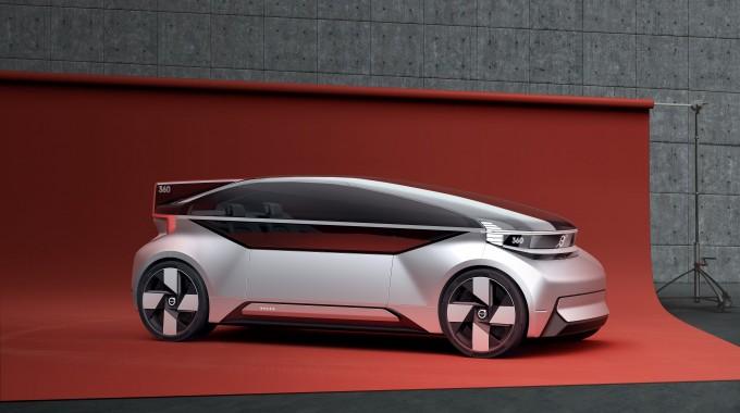 볼보가 만든 완전자율주행형 콘셉트카 360C가 KAIST 녹색교통대학원이 선정하는 2019 퓨쳐 모빌리티상 승용차 부문에 선정됐다. 사진 제공 KAIST