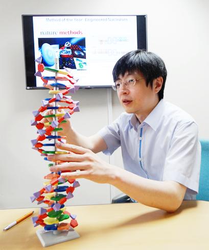 김진수 기초과학연구원 유전체교정연구단장. IBs 제공