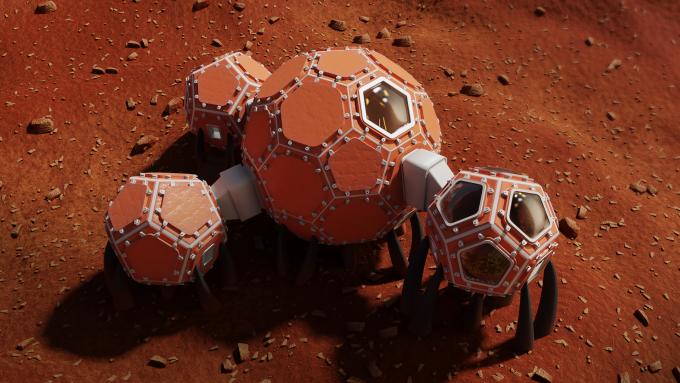 마스 인큐베이터 팀의 우주기지 상상도다. 마스 인큐베이터 제공