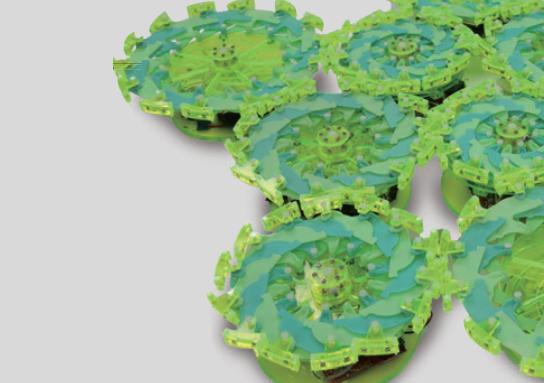 세포 행동 모방한 군집로봇