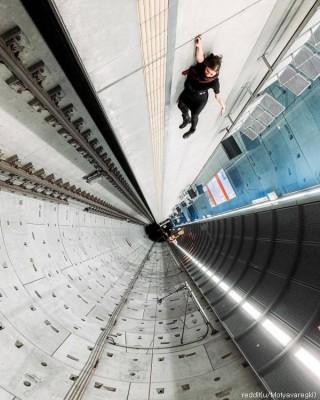 독일 지하철에서 느끼는 공포