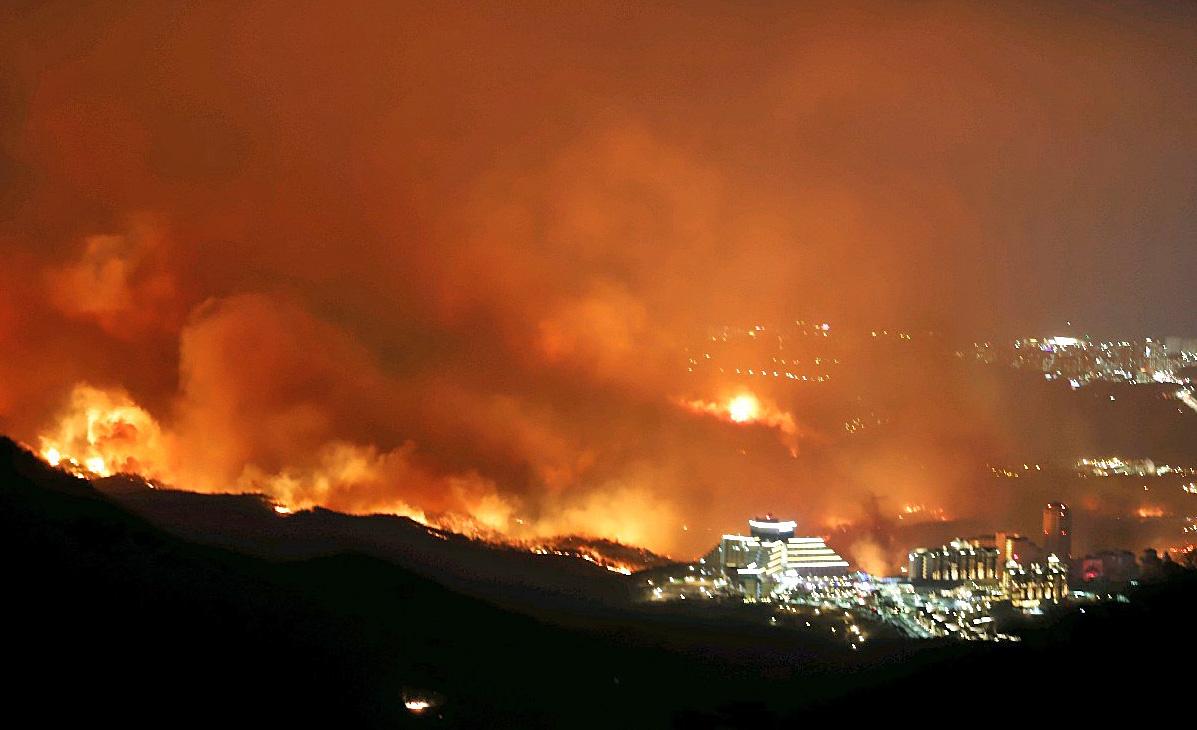 기후변화로 나무는 더 마르고 산불은 더 커진다