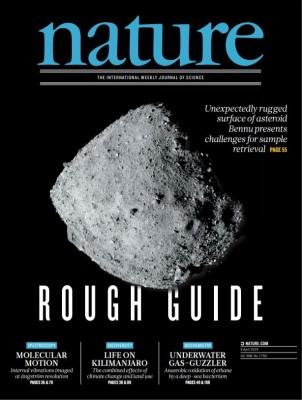 [표지로 읽는 과학]순항하던 소행성 베누 탐사, 예상과 다른 구성성분에 난항