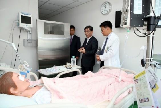 [동정] 엄재식 원안위원장, 방사선비상진료시설 점검