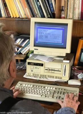 할아버지의 컴퓨터,네티즌 어리둥절