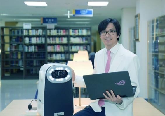 [미리 체험하는 의료로봇]② 안구운동 보고 사시 검사하는 안과로봇