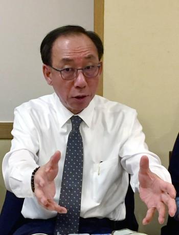 김명준 ETRI 신임원장. 윤신영 기자