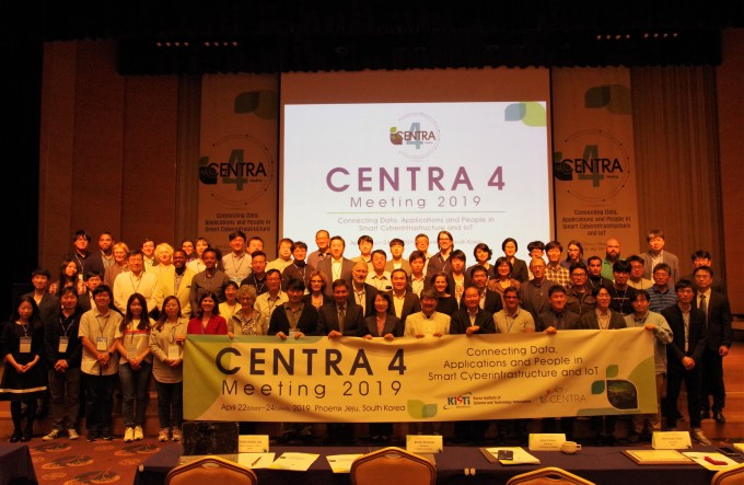 KISTI는 22일부터 3일간 제주에서 제4회 사이버인프로 국제연구협력회의(CENTRA)를 개최한다고 밝혔다. KISTI는 자체 개발중인 저전력 장거리 통신기술 기반의 사이언스로라의 협력을 추진할 계획이다. 사진제공 KISTI