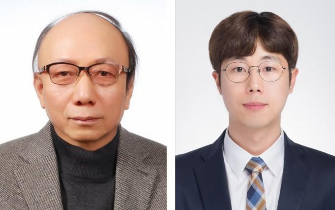 장현명 포스텍 신소재공학과 교수(왼쪽)와 한현 박사후연구원(오른쪽)팀은