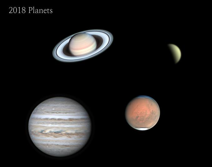 박동현씨의 ′2018 Planets′. 천문연 제공