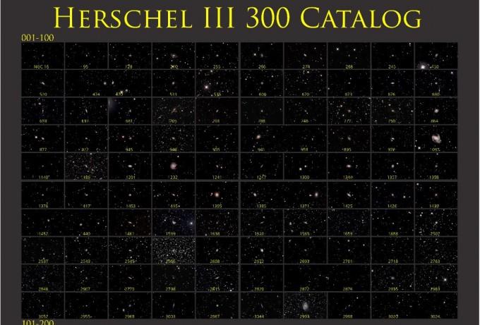 하원훈 씨의 ′Herschel 3 Catalog′. 천문연 제공