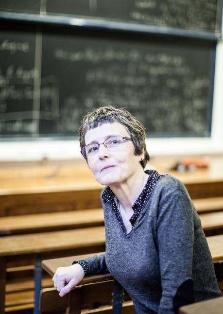 클레르 부아쟁 (콜레주 드 프랑스 수학과) 교수. Claire Voisin