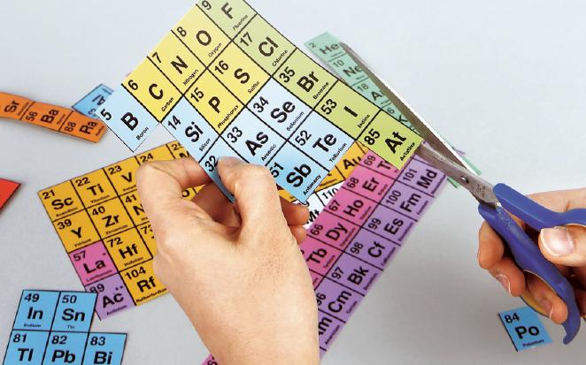 화학을 배울 때 반드시 거쳐야 하는 관문인 ′주기율표′. 원소 외에도 동물 이름, 지명 등을 이용해 새로운 주기율표를 만들 수 있다. 사진 이한철