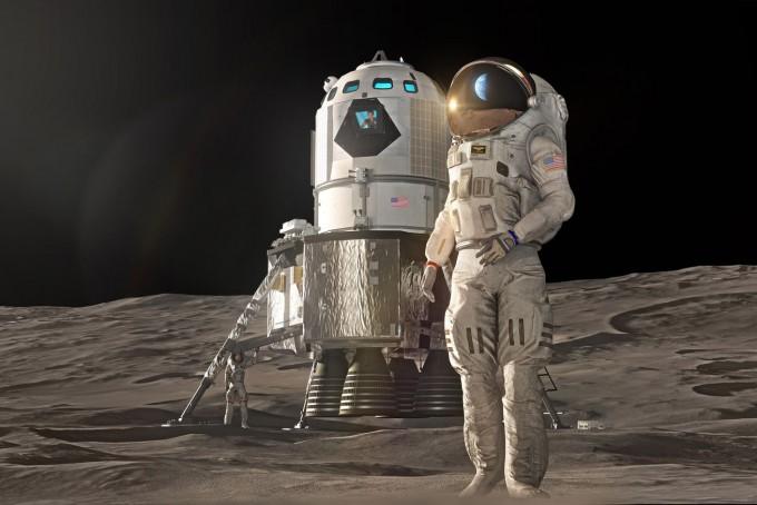 록히드마틴은 이달 10일 새로운 형태의 유인 달 착륙선 컨셉을 공개했다. 록히드마틴 제공