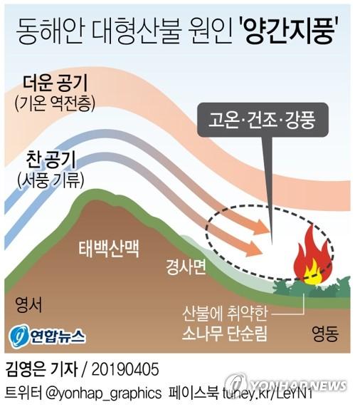 조선시대 문헌에도 기록된 독한 강풍 '양간지풍'