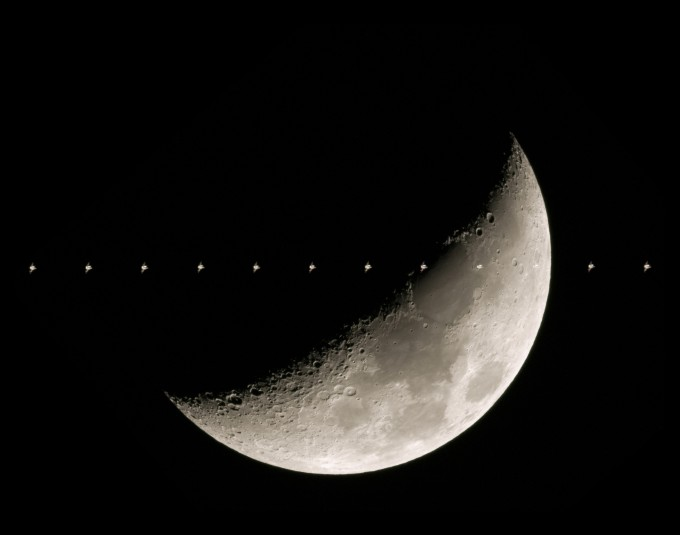 조현웅 씨의 ′Fly me to the Moon′. 천문연 제공