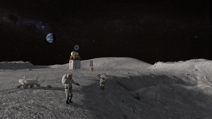 미국항공우주국(NASA)는 2024년까지 미국 우주인을 달에 보내는 계획을 수행하겠다고 밝혔다. NASA 제공