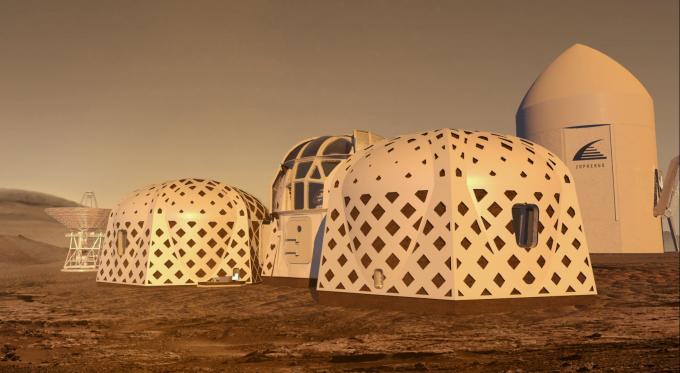 조퍼하우스 팀의 우주 기지 상상도. 조퍼하우스 제공