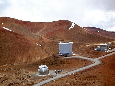 하와이의 제임스클러크 맥스웰 망원경.위키피디아 제공.