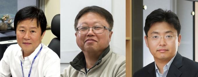 국내 연구진이 항암제 글리벡에 대한 내성을 띠게 하는 유전자를 세계 최초로 밝혀냈다. 왼쪽부터 연구에 참여한 김동욱_김홍태_이주용 교수다. 서울성모병원 제공
