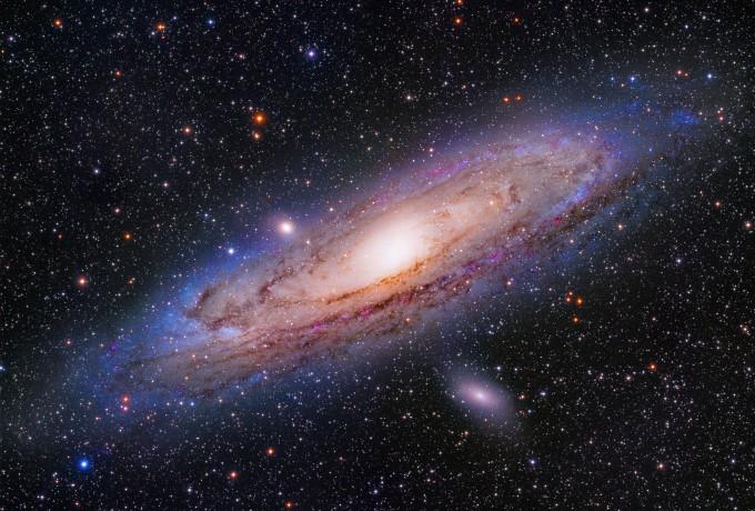 공양식 씨의 ′안드로메다 은하 24시′가 제27회 천문연 천체사진 공모전에서 대상을 차지했다. 천문연 제공