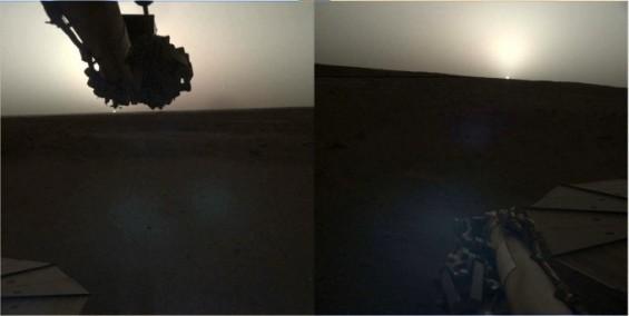 [화보]우주탐사선들이 43년간 포착한 화성의 일출과 일몰