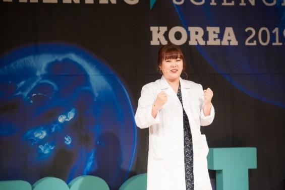 '과학 발표경연' 페임랩 코리아 대상에 정민정 씨