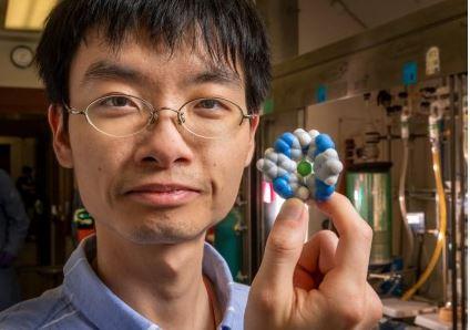 10만분의 1g만으로 물 1t에 포함된 염분 제거하는 '분자'의 마법