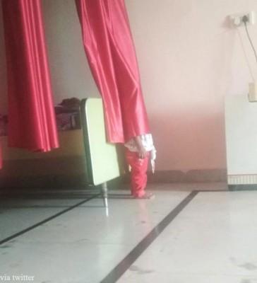 숨바꼭질하는 아이