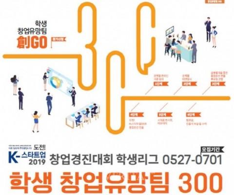 창업인재 지원하는 '학생 창업유망팀 300경진대회' 개최