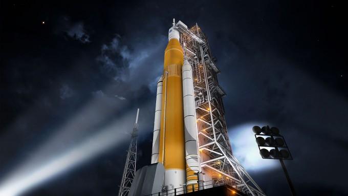 우주발사시스템(SLS) 개발에 6억 5100만 달러가 추가 투입된다. 미국항공우주국 제공