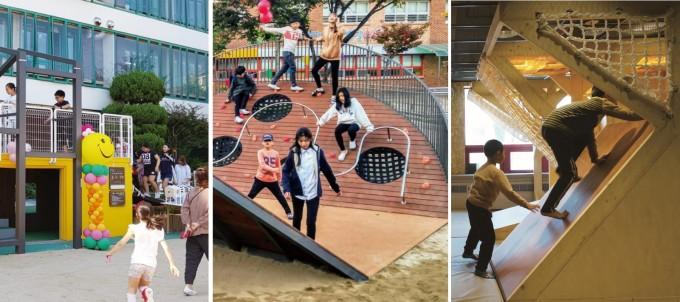 해솔초 학생들 30명이 함께 개발한 ′해솔꿈터′. EUS+건축사무소 제공