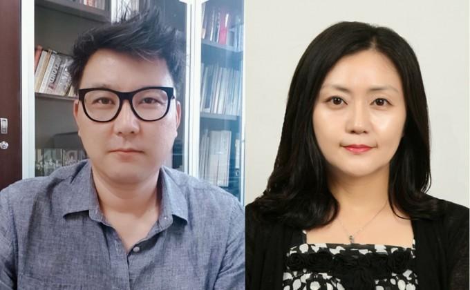류제황(왼쪽) 전남대 치의학전문대학원 교수와 허윤현(오른쪽) 광주과학기술원(GIST) 생명과학부 교수 공동연구팀이 골 형성 및 흡수 장애를 조절해 골다공증을 막는 치료타켓을 제시했다. 한국연구재단 제공