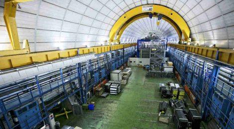이탈리아 국립핵물리연구소가 운영중인 지하실험시설인 그랑사소국립연구소. LNGS