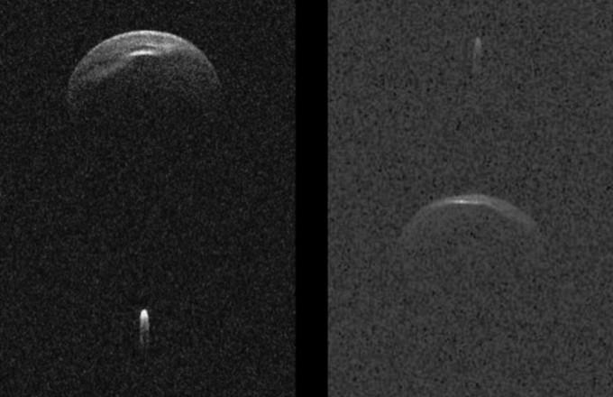 소행성 '1999KW4'가 오는 25일 시속 7만7000km의 속도로 지구에 근접한다. NASA 제공