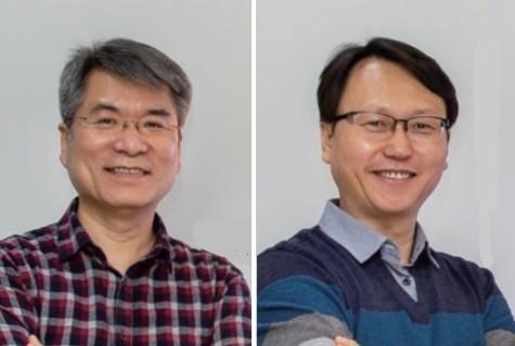 고재준 에프티랩 대표와 김영권 부대표. 과학동아 제공