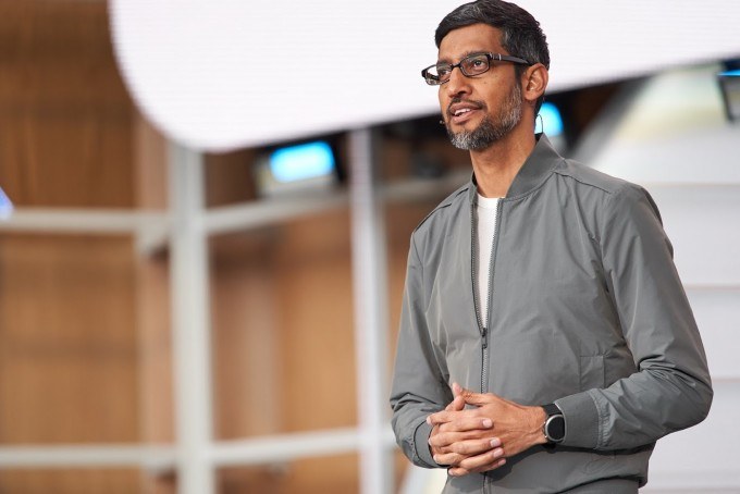 순다르 피차이 구글 최고경영자(CEO)는 현지시각으로 7일 미국 캘리포나이주 마운틴뷰에서 열린 ′구글 I/O 2019′에서 구글이 개발 중인 신기술을 대거 공개했다. 구글 제공