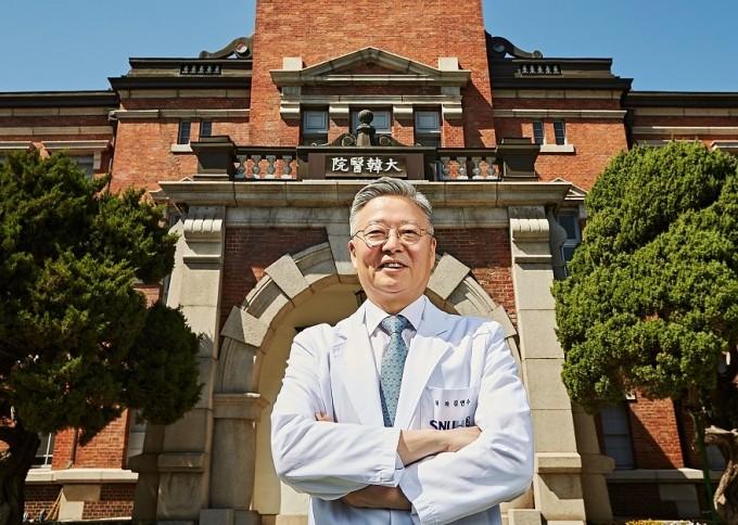 신임 서울대병원장에 임명된 김연수 신장내과 교수 임명. 서울대병원 제공