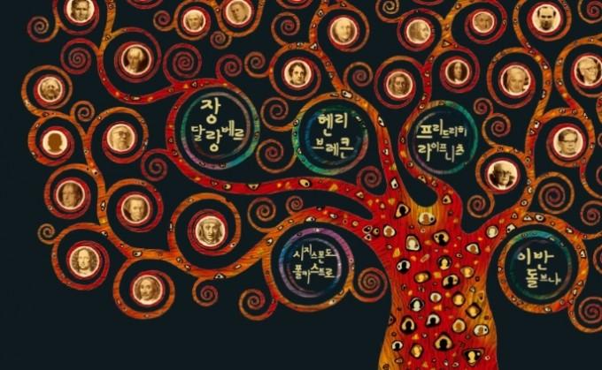 수학자 계보 나무. 24명의 수학적 조상, 그 중에서도 시지스몬도 폴카스트로, 이반 돌브냐, 장르 롱 달랑베르, 프리드리히 라이프니츠, 헨리 브레큰으로부터 수많은 수학적 자손이 탄생했다. 수학동아 제공