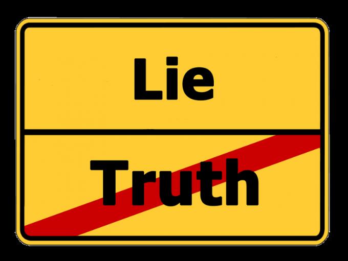 거짓말과 진실 중, 거짓을 받아들이는 사람이 있다. 리플리 증후군이다. 픽사베이