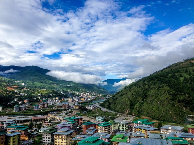 부탄은 인도와 중국 사이 히말라야산맥지대에 위치해 세계 10대 생물자원 보고로 꼽힌다. 픽사베이