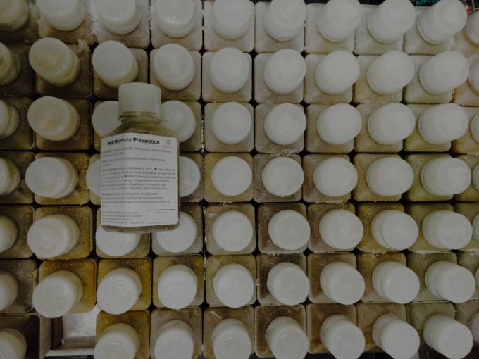 미국 대변은행 ′오픈바이옴′에서 저장 중인 대변이식술 용 대변 샘플들. 오픈바이옴 제공