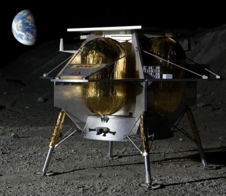 美 달 탐사도 '아웃소싱'…민간기업 만든 착륙선 2020년 달에 간다